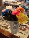 As a bouquet